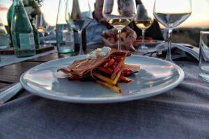 un piatto dello chef Andrea Visani
